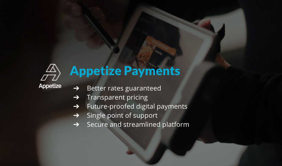 Appetize Payments All-in-One Platform for Enterprise Businesses