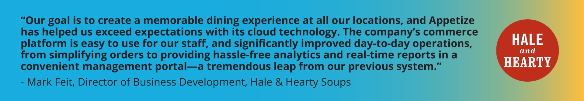 hale and hearty case study delighting customers